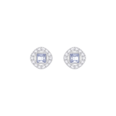 Swarovski Angelic Light Sapphire Oorbellen 5352048