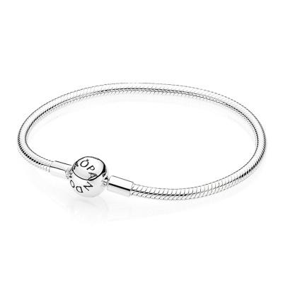 Pandora Zilveren Bal Sluiting Armband 590728