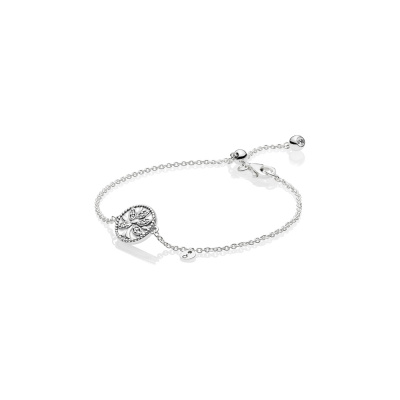 Pandora Stories 925 Sterling Zilveren Tree Of Life Armband 597776CZ