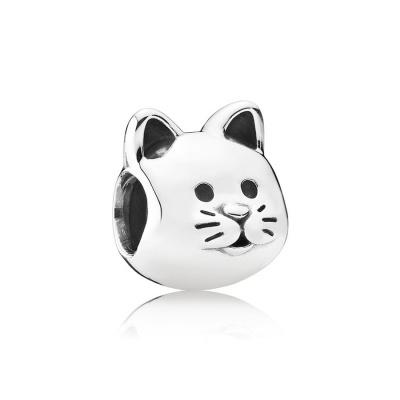 Pandora Cat Zilveren Bedel
