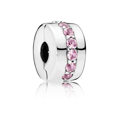 Pandora Moments Zilveren Pink Shining Path Bedel 791972PCZ