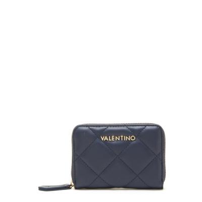 Valentino Bags Ocarina Blu Portemonnee VPS3KK137BLU