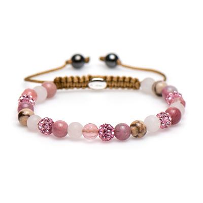 Karma Spiral Pink Armband 83211 (Lengte 17.50-19.00 cm)