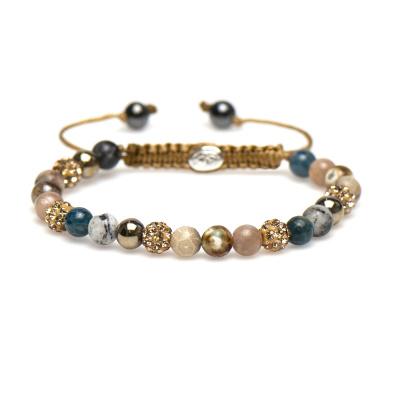 Karma Spiral Yvet Armband 83298 (Lengte: 17.50-19.00 cm)