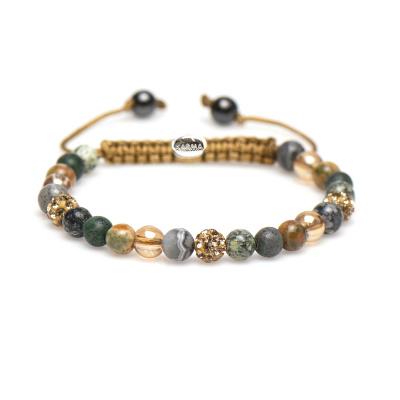 Karma Sprial Mylou Armband 83304 (Lengte: 17.50-19.00 cm)