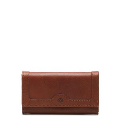 Micmacbags Legacy Cognac Drukknop Portemonnee 18406005