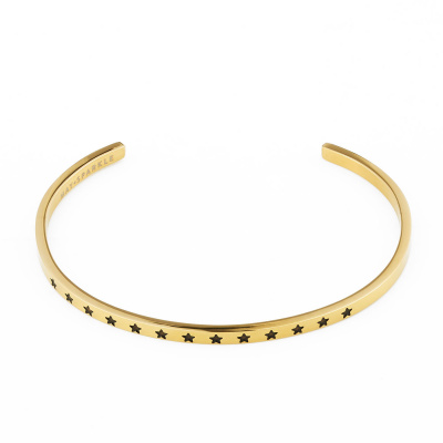 May Sparkle The Bangle Collection Stars Goudkleurige Armband MS10014