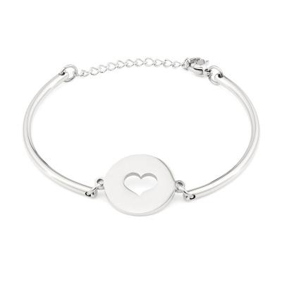 May Sparkle Happiness Pauline Zilverkleurige Armband MS10055