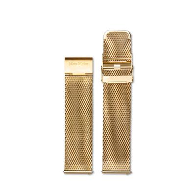 Mats Meier Strap 22 mm Mesh Gold MM40005