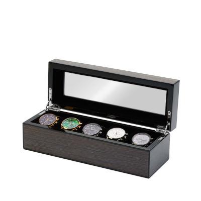 Mats Meier Mont Fort grijze horlogebox voor 5 horloges