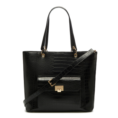 May Sparkle The Daily Black Croco Shopper MS25001
