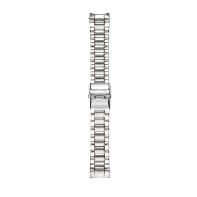 Mats Meier Strap 22mm Zilverkleurig/Goudkleurig MM43002