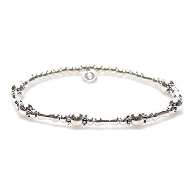 Karma Silver Bracelet Balistyle Armband 92286 (Lengte: 17.50-18.00 cm)