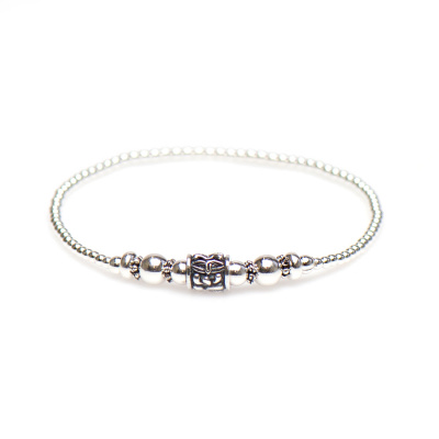 Karma 925 Sterling Zilveren Balistyle Armband 92326
