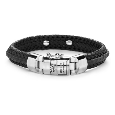 Buddha to Buddha Nurul Small Leather Black Armband BTB816BL