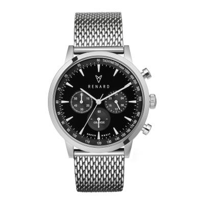 Renard Grande Black Milanese horloge RC402SS31MSS