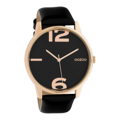 OOZOO Timepieces Zwart horloge C10374 (45 mm)