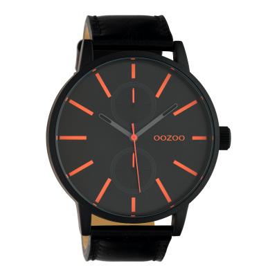 OOZOO Timepieces Zwart horloge C10504