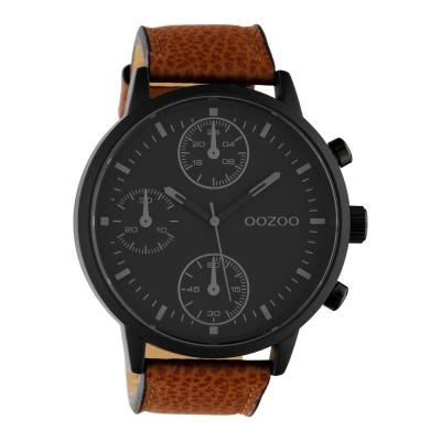 OOZOO Timepieces Bruin/Zwart horloge C10533
