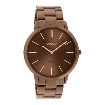 OOZOO Vintage Bruin horloge C20103