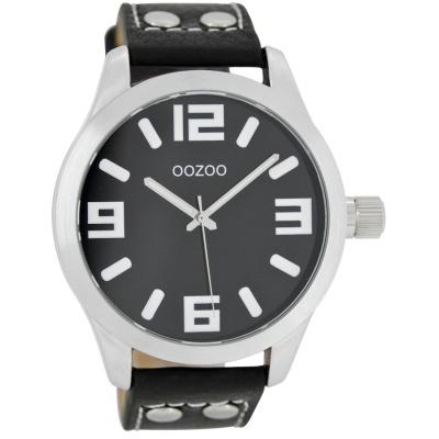 OOZOO Timepieces horloge Zwart/Zwart C1054 (46 mm)