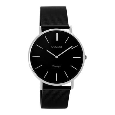 OOZOO Vintage Zwart horloge C8866 (36 mm)