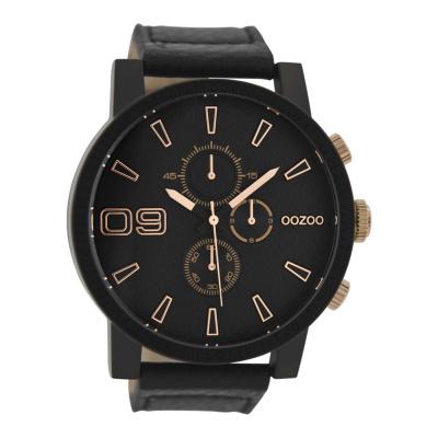 OOZOO Zwart horloge C9034