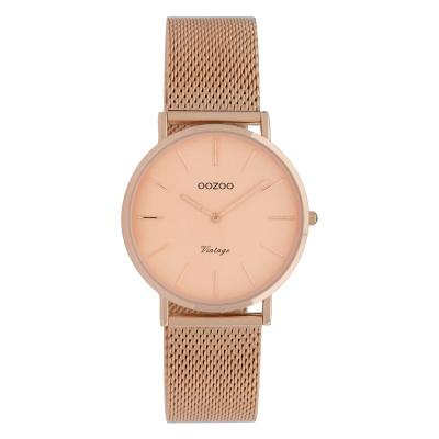 OOZOO Vintage Rosegoudkleurig horloge C9923 (32 mm)