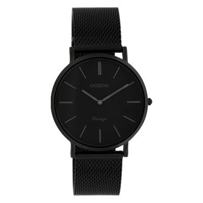 OOZOO Vintage Zwart horloge C9934 (36 mm)