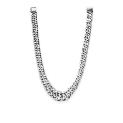 Buddha to Buddha  925 Sterling Zilveren Chain Gradient Ketting BTB163