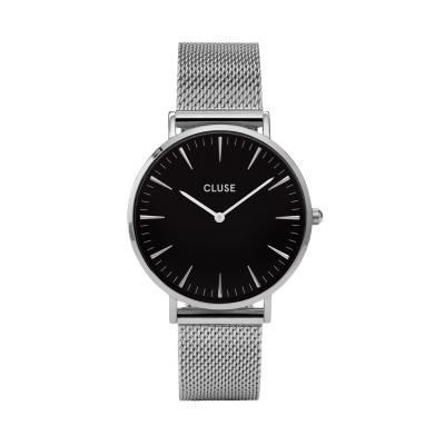 CLUSE Boho Chic Zilverkleurig Horloge CW0101201004