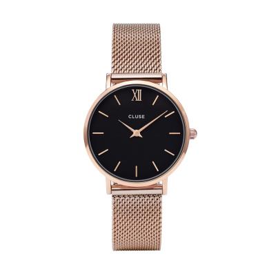CLUSE Minuit Roségoudkleurig Horloge CW0101203003