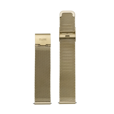 CLUSE Strap 16 mm Minuit Mesh Gold CS1401101029