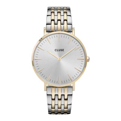 CLUSE Boho Chic Goudkleurig/Zilverkleurig horloge CW0101201025