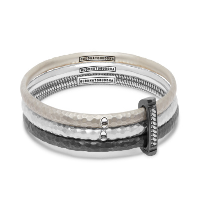 Buddha to Buddha 925 Sterling Zilveren Refined Dunia Armband 317
