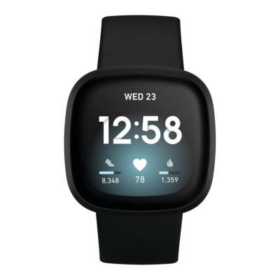 Fitbit Versa 3 Zwart display smartwatch FB511BKBK