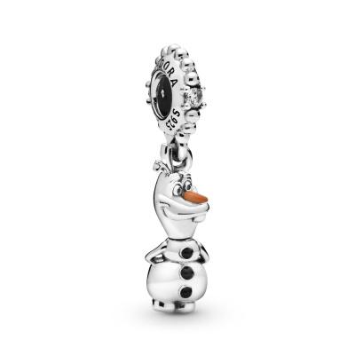 Pandora Moments 925 Sterling Zilveren Disney Olaf Bedel 798455C01