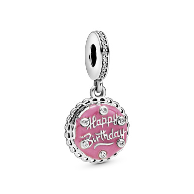 Pandora Moments 925 Sterling Zilveren Birthday Cake Bedel 798888C01