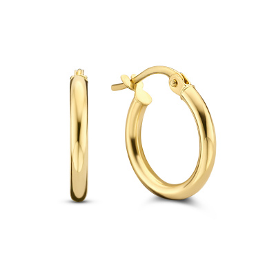 Isabel Bernard Rivoli Estelle 14 Karaat Gouden Creolen IB360104