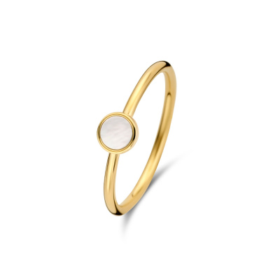 Isabel Bernard Belleville Luna 14 Karaat Gouden Ring IB330010