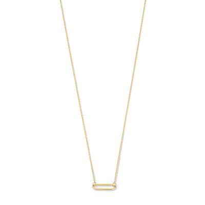Isabel Bernard Aidee Cecile 14 Karaat Gouden Collier IB340038 (Lengte: 45.00 cm)