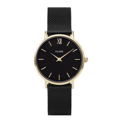 CLUSE Minuit Goudkleurig/Black Horloge CW0101203009