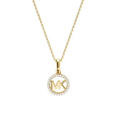Michael Kors Zilveren Goudkleurige Custom Ketting MKC1108AN710 (Lengte: 46.00-51.00 cm)