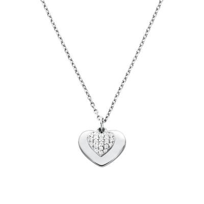 Michael Kors Zilveren Love Ketting MKC1120AN040 (Lengte: 46.00-51.00 cm)