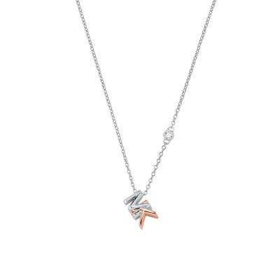 Michael Kors Premium Dames Ketting van Sterling Zilver MKC1537AN931 (Lengte: 40.50 - 45.50 cm)