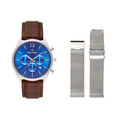 Mats Meier Grand Combin Herenhorloge En Horlogeband Giftset MM90016
