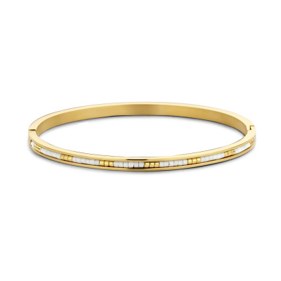 May Sparkle Happiness Amber Goudkleurige Armband MS320005 (Lengte: 18.00 cm)