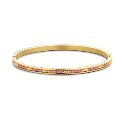 May Sparkle Happiness Amber Goudkleurige Armband MS320006 (Lengte: 18.00 cm)