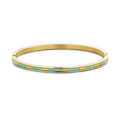 May Sparkle Happiness Amber Goudkleurige Armband MS320007 (Lengte: 18.00 cm)