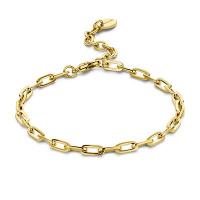 May Sparkle Happiness Senna Goudkleurige Armband MS320014 (Lengte: 16.50-19.50 cm)